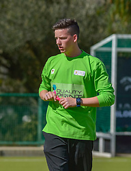 Referee during day two of the FNB Private Wealth Super 12 Hockey Tournament held at Oranje Meisieskool in Bloemfontein, South Africa on the 7th August 2016, <br /> <br /> Photo by:   Frikkie Kapp / Real Time Images