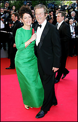 January 28, 2017 - Cannes, France - JOHN HURT & ANN REES MEYERS- MONTEE DES MARCHES DE 'INDIANA JONES 4' - 61EME FESTIVAL DE CANNES 2008 (Credit Image: © Visual via ZUMA Press)