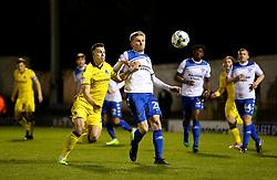 Billy Bodin of Bristol Rovers challenges Taylor Moore of Bury - Mandatory by-line: Matt McNulty/JMP - 14/03/2017 - FOOTBALL - Gigg Lane - Bury, England - Bury v Bristol Rovers - Sky Bet League One