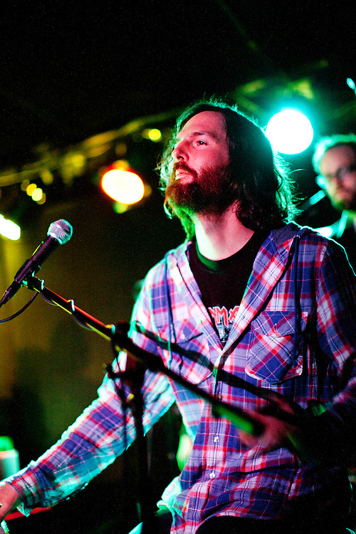 """NEW YORK, NY - FEBRUARY 20: American band Wakey!Wakey! celebrates the release of their album """"Almost Everything I Wish I'd Said The Last Time I Saw You..."""" with a performance at the Mercury Lounge on February 20, 2010 in New York, New York. (PHOTO CREDIT: Eric M. Townsend)"""