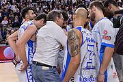 DESCRIZIONE : Beko Legabasket Serie A 2015- 2016 Playoff Quarti di Finale Gara3 Dinamo Banco di Sardegna Sassari - Grissin Bon Reggio Emilia<br /> GIOCATORE : Federico Pasquini<br /> CATEGORIA : Time Out Postgame Fair Play<br /> SQUADRA : Dinamo Banco di Sardegna Sassari<br /> EVENTO : Beko Legabasket Serie A 2015-2016 Playoff<br /> GARA : Quarti di Finale Gara3 Dinamo Banco di Sardegna Sassari - Grissin Bon Reggio Emilia<br /> DATA : 11/05/2016<br /> SPORT : Pallacanestro <br /> AUTORE : Agenzia Ciamillo-Castoria/L.Canu