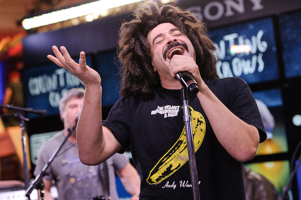 Photos of the band Counting Crows performing live at MLB Fan Cave, NYC. October 22, 2012. Copyright © 2012 Matthew Eisman. All Rights Reserved.