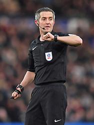 Referee Darren Bond