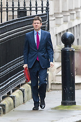 Downing Street, London, February 2nd 2016. Secretary of State for Communities and Local Government Greg Clark arrives at No 10 prior to attending the weekly Cabinet meeting. ///FOR LICENCING CONTACT: paul@pauldaveycreative.co.uk TEL:+44 (0) 7966 016 296 or +44 (0) 20 8969 6875. ©2015 Paul R Davey. All rights reserved.