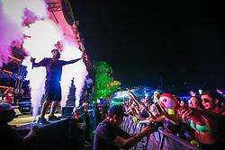 Khalif durante a 25ª edição do Planeta Atlântida. O maior festival de música do Sul do Brasil ocorre nos dias 31 Janeiro e 01 de fevereiro, na SABA, praia de Atlântida, no Litoral Norte do Rio Grande do Sul. FOTO: <br /> Gustavo Granata/ Agência Preview