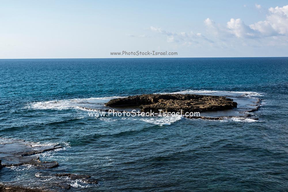 Rock Formation on Dor-Habonim beach, Israel