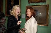 Lady Weidenfeld and Lady Foster. Celebration of Lord Weidenfeld's 60 Years in Publishing hosted by Orion. the Weldon Galleries. National Portrait Gallery. London. 29 June 2005. ONE TIME USE ONLY - DO NOT ARCHIVE  © Copyright Photograph by Dafydd Jones 66 Stockwell Park Rd. London SW9 0DA Tel 020 7733 0108 www.dafjones.com
