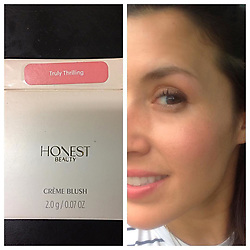 """Jessica Alba releases a photo on Instagram with the following caption: """"\ud83d\ude4c\ud83c\udffd\ud83d\udc9e#Repost @jbeebeshoes #honestbeauty #honest #trulythrilling #trulythrillingblush #blush #creamblush #jessicaalba @honest_beauty @honest @jessicaalba"""". Photo Credit: Instagram *** No USA Distribution *** For Editorial Use Only *** Not to be Published in Books or Photo Books ***  Please note: Fees charged by the agency are for the agency's services only, and do not, nor are they intended to, convey to the user any ownership of Copyright or License in the material. The agency does not claim any ownership including but not limited to Copyright or License in the attached material. By publishing this material you expressly agree to indemnify and to hold the agency and its directors, shareholders and employees harmless from any loss, claims, damages, demands, expenses (including legal fees), or any causes of action or allegation against the agency arising out of or connected in any way with publication of the material."""