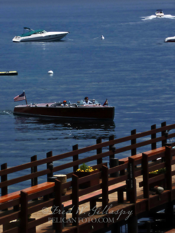 Wooden Boat I, Lake Tahoe