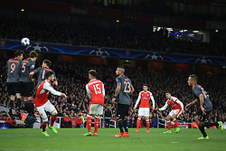 7 March 2017 - UEFA Champions League - (Round of 16) - Arsenal v Bayern Munich - Alexis Sanchez of Arsenal with a free kick - Photo: Marc Atkins / Offside.