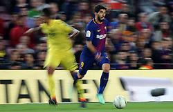 May 9, 2018 - Barcelona, Spain - Luis Suarez during the match between FC Barcelona and Villarreal CF, played at the Camp Nou Stadium on 09th May 2018 in Barcelona, Spain.  Photo: Joan Valls/Urbanandsport /NurPhoto. (Credit Image: © Joan Valls/NurPhoto via ZUMA Press)