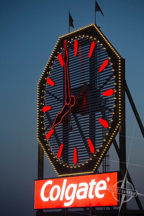 Colgate Clock as seen from Downtown Manhattan