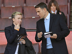 February 23, 2019 - Sheffield, England, United Kingdom - Phil Nevile manager of England Women's National Team(Right)       during the  FA Women's Continental League Cup Final  between Arsenal and Manchester City Women at the Bramall Lane Football Ground, Sheffield United FC Sheffield, Saturday 23rd February. (Credit Image: © Action Foto Sport/NurPhoto via ZUMA Press)