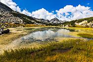 Pirin Mountains, Bulgaria - September, 2020: The Long Lake
