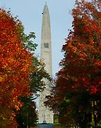 Bennington Monument, 306-feet-tall, commemorating the Revolutionary War Battle of Bennington, Old Bennington, Vermont.