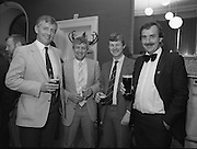Rugby Team Reunion.at The Orwell Lodge Hotel..1986..24.05.1986..05.24.1986..24th May 1986..Rugby team of 25 years ago meet for a reunion..Unfortunately we do not have the caption sheet for those photographed here. If you were there or know the people involved why not get in touch at irishphotoarchive@gmail.com,and we will be delighted to add the information