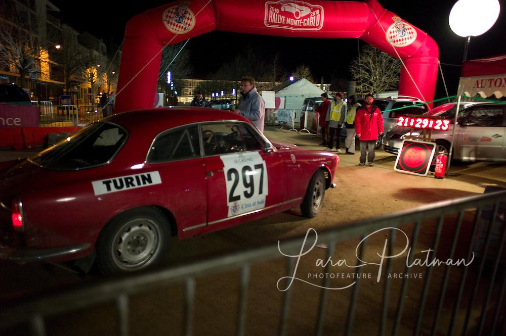 photographs of the 13th Monte Carlo Rally 13th Rallye Historique Monte Carlo
