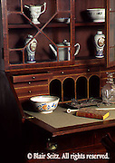 Federal desk and bookcase, Hiester Room, Historic Society, Reading, Berks Co., PA