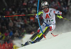 """29.01.2019, Planai, Schladming, AUT, FIS Weltcup Ski Alpin, Slalom, Herren, 1. Lauf, im Bild Julien Lizeroux (FRA) // Julien Lizeroux of France in action during his 1st run of men's Slalom """"the Nightrace"""" of FIS ski alpine world cup at the Planai in Schladming, Austria on 2019/01/29. EXPA Pictures © 2019, PhotoCredit: EXPA/ Erich Spiess"""