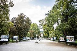 Opening ceremony of photo exhibition at 100 years Anniversary of Slovenian Athletic Federation, on September 17, 2020 in Tivoli park, Jakopicevo sprehajalisce, Ljubljana, Slovenia. Photo by Vid Ponikvar / Sportida