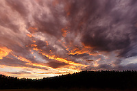 Farmland at Sunset on a cloudy stormy evening in Northern Idaho<br /> <br /> ©2016, Sean Phillips<br /> http://www.RiverwoodPhotography.com