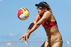 20150828 NED: NK Beachvolleybal 2015, Scheveningen<br />Kwalificaties NK Beachvolleybal 2015, Laura Bloem