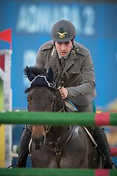 Gaudiano Emanuele (ITA) - Admara 2<br /> CHI Al Shaqab - Doha 2013<br /> © Dirk Caremans