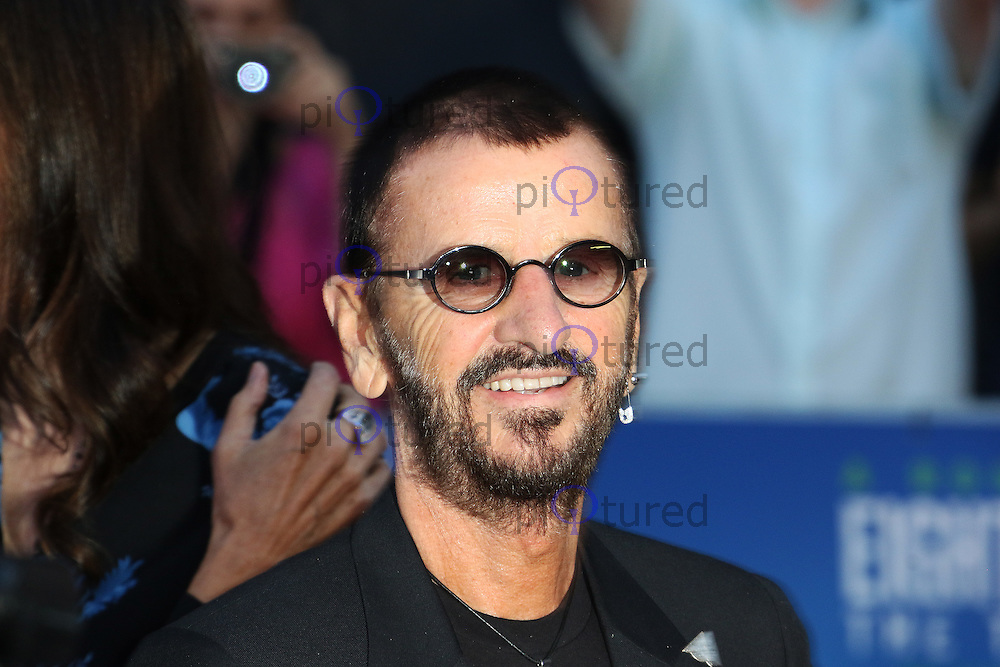 Ringo Starr, The Beatles: Eight Days A Week: The Touring Years - World Film Premiere, Leicester Square, London UK, 15 September 2016, Photo by Richard Goldschmidt