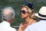 Henley, England.  Hats at Henley.  2015 Henley Royal Regatta, Henley Reach, River Thames. <br /> <br /> Wednesday  01/07/2015<br /> <br /> © Peter SPURRIER<br /> NIKON CORPORATION  NIKON D4  f6.3  1/3200sec  500mm  5.3MB