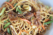 Stir fried beef noodles