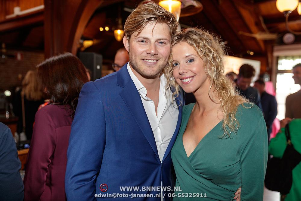 NLD/Netherlands/20190506 - 100%NL Magazine viert 10 Jarig jubileum, Tim Douwsma en zwangere partner Elske