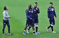 "Cesare PRANDELLI, Mario BALOTELLI, Emiliano VIVIANO, Davide ASTORI<br /> Firenze 21/05/2012  ""Centro sportivo di Coverciano""<br /> allenamento nazionale italian presso il centro sportivo di Coverciano<br /> Football Calcio <br /> Foto Insidefoto Alessandro Sabattini<br /> <br /> <br /> <br /> Fiorentina captain Davide Astori dies suddenly aged 31 . <br /> Astori was staying a hotel with his team-mates ahead of their game on Sunday away at Udinese when he passed away. <br /> Foto Insidefoto"