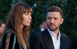 Jessica Biel, Justin Timberlake attend the 22nd Annual Critics' Choice Awards at Barker Hangar on December 11, 2016 in Santa Monica, Los Angeles, CA, USA. Photo By Lionel Hahn/ABACAPRESS.COM