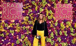 Myleene Klass attending the Crazy Rich Asians Premiere held at Ham Yard Hotel, London.