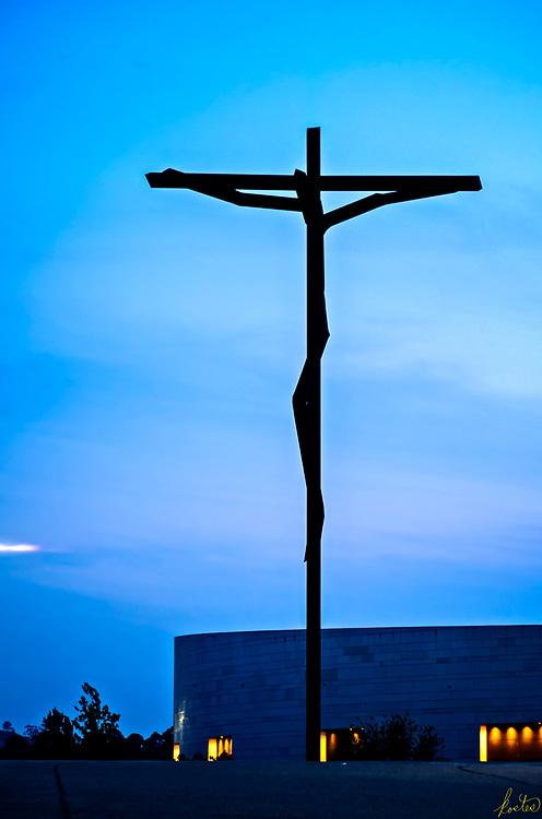 The modern crucifix at Fatima, Portugal