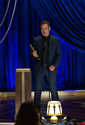 Scott Fisher accepts the Oscar® for Visual Effects during the live ABC Telecast of The 93rd Oscars® at Union Station in Los Angeles, CA, USA on Sunday, April 25, 2021. Photo by Todd Wawrychuk/A.M.P.A.S. via ABACAPRESS.COM