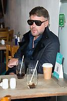 Danny Bear on the set of Renegades ,Upper Street Islington<br /> .
