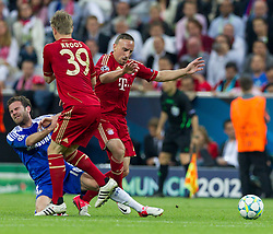 19.05.2012, Allianz Arena, Muenchen, GER, UEFA CL, Finale, FC Bayern Muenchen (GER) vs FC Chelsea (ENG), im Bild Juan Mata, (FC Chelsea, #10), Toni Kross, (FC Bayern München #39) und Franck Ribery, (FC Bayern München #07) during the Final Match of the UEFA Championsleague between FC Bayern Munich (GER) vs Chelsea FC (ENG) at the Allianz Arena, Munich, Germany on 2012/05/19. EXPA Pictures © 2012, PhotoCredit: EXPA/ Peter Rinderer