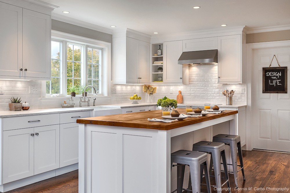 Brookhaven Cabinets in Custom Kitchen