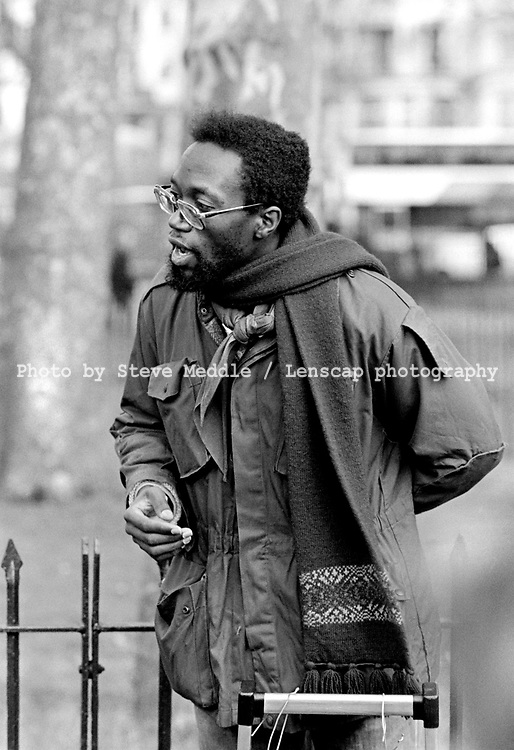 Preachers at Speakers Corner, Hyde Park, London - 1987