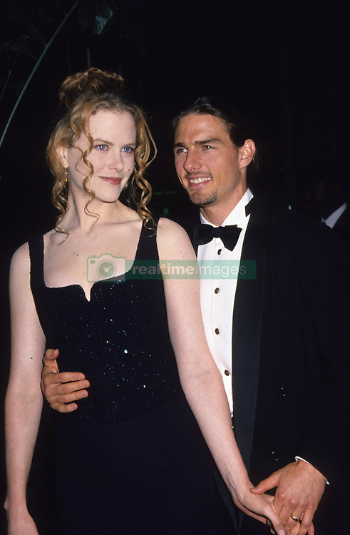 Sep 09, 1994; Los Angeles, CA, USA; TOM CRUISE (born Thomas Cruise Mapother IV on July 3, 1962) is an Academy Award-nominated and Golden Globe Award-winning American actor and film producer who has starred in a number of top-grossing movies and remains one of the most successful movie stars in Hollywood. His first leading role in a blockbuster movie was in 1983's Risky Business. In the last couple of years, he has received additional media coverage regarding his support of Scientology (and his related criticism of psychiatry) and his relationship with Katie Holmes. Wtih Nicole Kidman.  (Credit Image: © Kathy Hutchins/ZUMA Press/ZUMAPRESS.com)