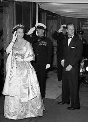 File photo dated 31/10/60 of Queen Elizabeth II and the Duke of Edinburgh arriving at the Odeon Theatre, Leicester Square, London for the world premiere of the film 'Man in the Moon'. The couple had a strong bond but were different in character and the Duke of Edinburgh never shied away from telling his wife exactly what was what.Issue date: Friday April 9, 2021.