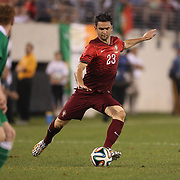 Hélder Postiga, Portugal, in action during the Portugal V Ireland International Friendly match in preparation for the 2014 FIFA World Cup in Brazil. MetLife Stadium, Rutherford, New Jersey, USA. 10th June 2014. Photo Tim Clayton