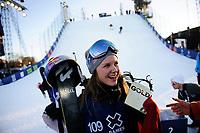 Snowboard , X-Games Oslo <br /> 27. Februar 2016  , 20160226<br /> Snowboard, Big Air Tøyen<br /> Tiril Sjåstad Christiansen med gullmedalje i X-Games<br /> Foto: Sjur Stølen / Digitalsport