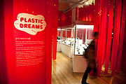 An exhibition of plastics. The Science Museum, London. The Science Museum was founded in 1857 with objects shown at the Great Exhibition of 1851. Today the Museum is world renowned for its historic collections, awe-inspiring galleries and inspirational exhibitions.