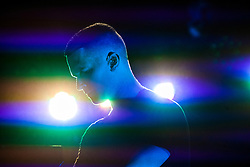 Hurts on the King Tuts Wah Wah tent, Sunday, T in the Park 2013.<br /> ©Michael Schofield.