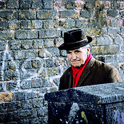 East London gentleman, London, England (April 2005)