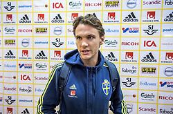 October 2, 2017 - Stockholm, Sweden - Svenska fotbollslandslaget tränar pÃ¥ Friends Arena. Albin Ekdal..(c) ERICSSON MARCUS  / Aftonbladet / IBL BildbyrÃ¥....* * * EXPRESSEN OUT * * *....AFTONBLADET / 85729 (Credit Image: © Ericsson Marcus/Aftonbladet/IBL via ZUMA Wire)