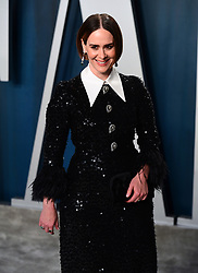 Sarah Paulson attending the Vanity Fair Oscar Party held at the Wallis Annenberg Center for the Performing Arts in Beverly Hills, Los Angeles, California, USA.