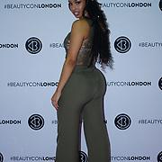 Olympia London,UK, 2nd Dec 2017. Nikita is a beauty youtuber attends the BeautyCon London.
